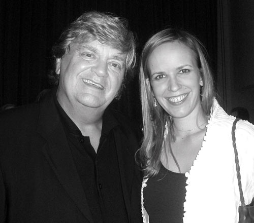 Phil Everly (of the Everly Brothers); Nashville, Tennessee after premiere of du Bois' Bryant Quintet in 2007